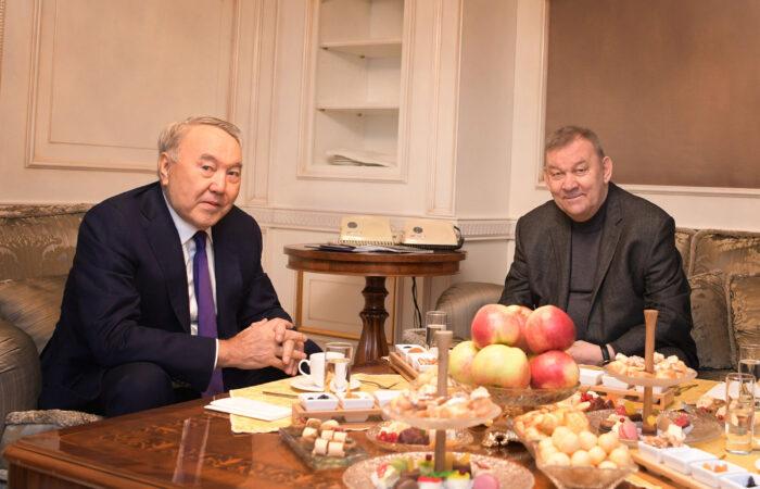 Нурсултан Назарбаев Владимир Урин