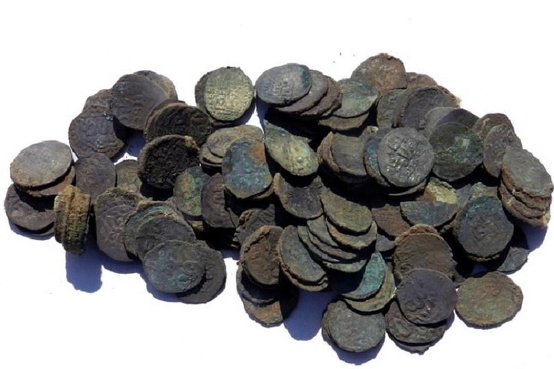 Клад монет Золотой Орды