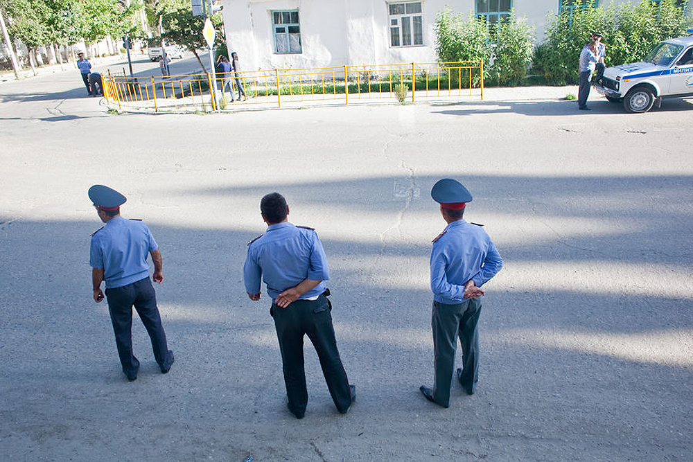 Таджикская милиция