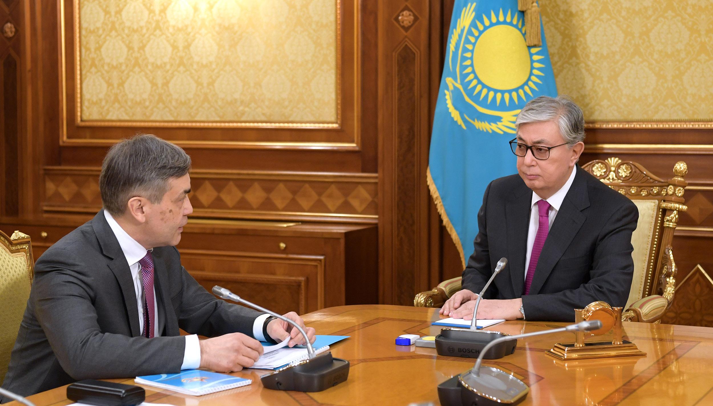 Токаев Ермекбаев