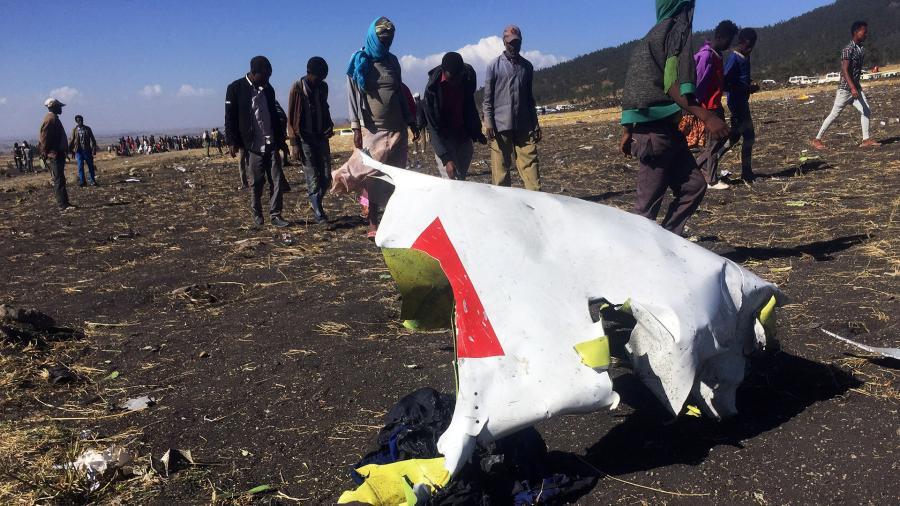крушение самолета эфиопия