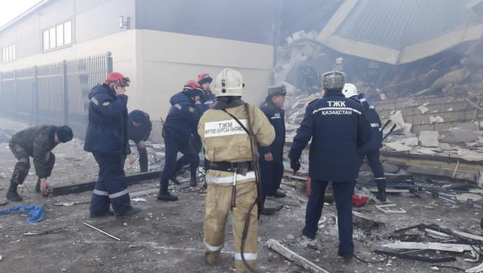 Взрыв в Астане