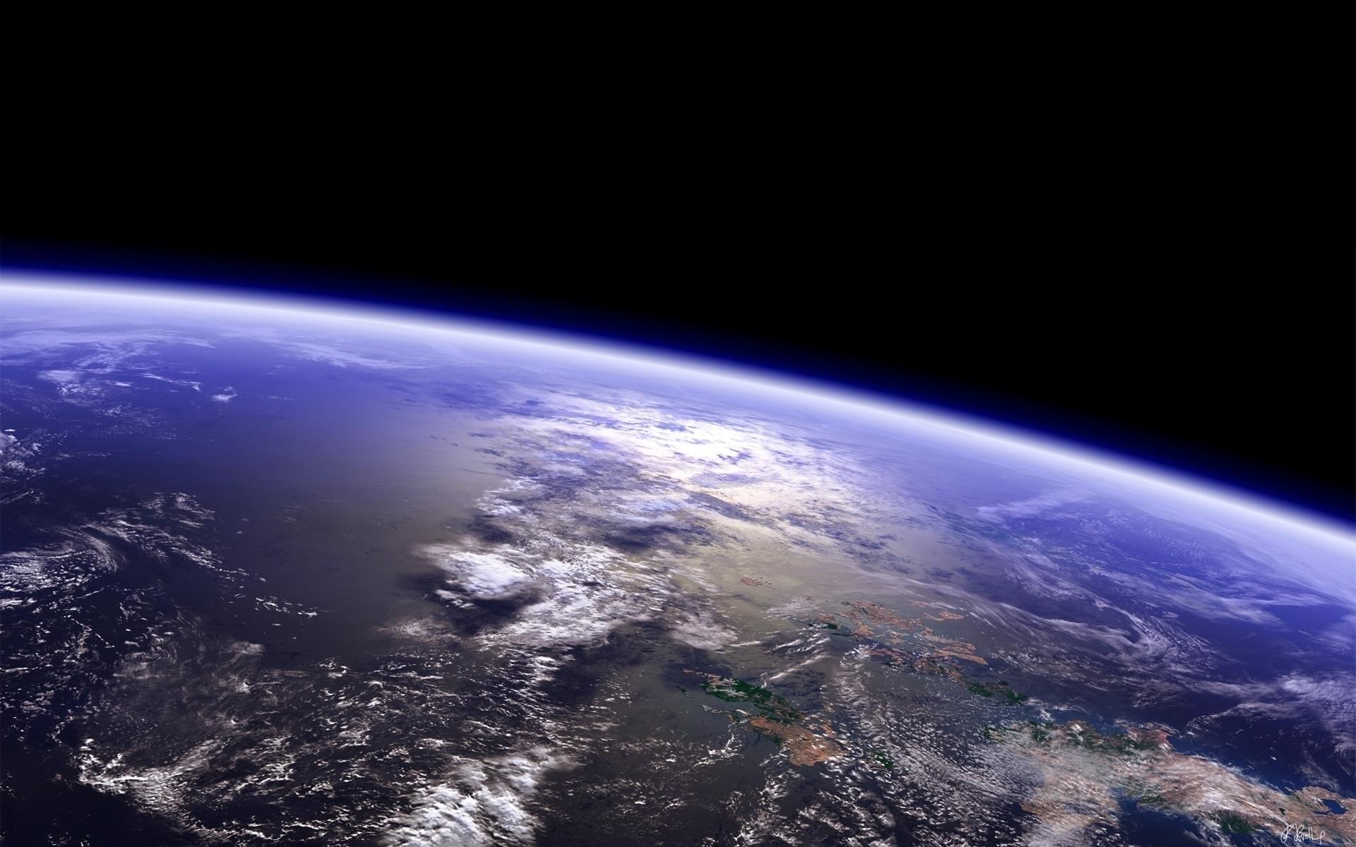 Космос, околоземная орбита, Земля