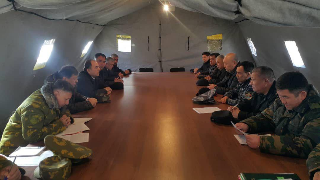 Кыргызско-таджикские переговоры в Кок-Таше