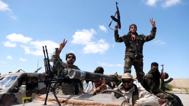 Ливия, штурм Триполи