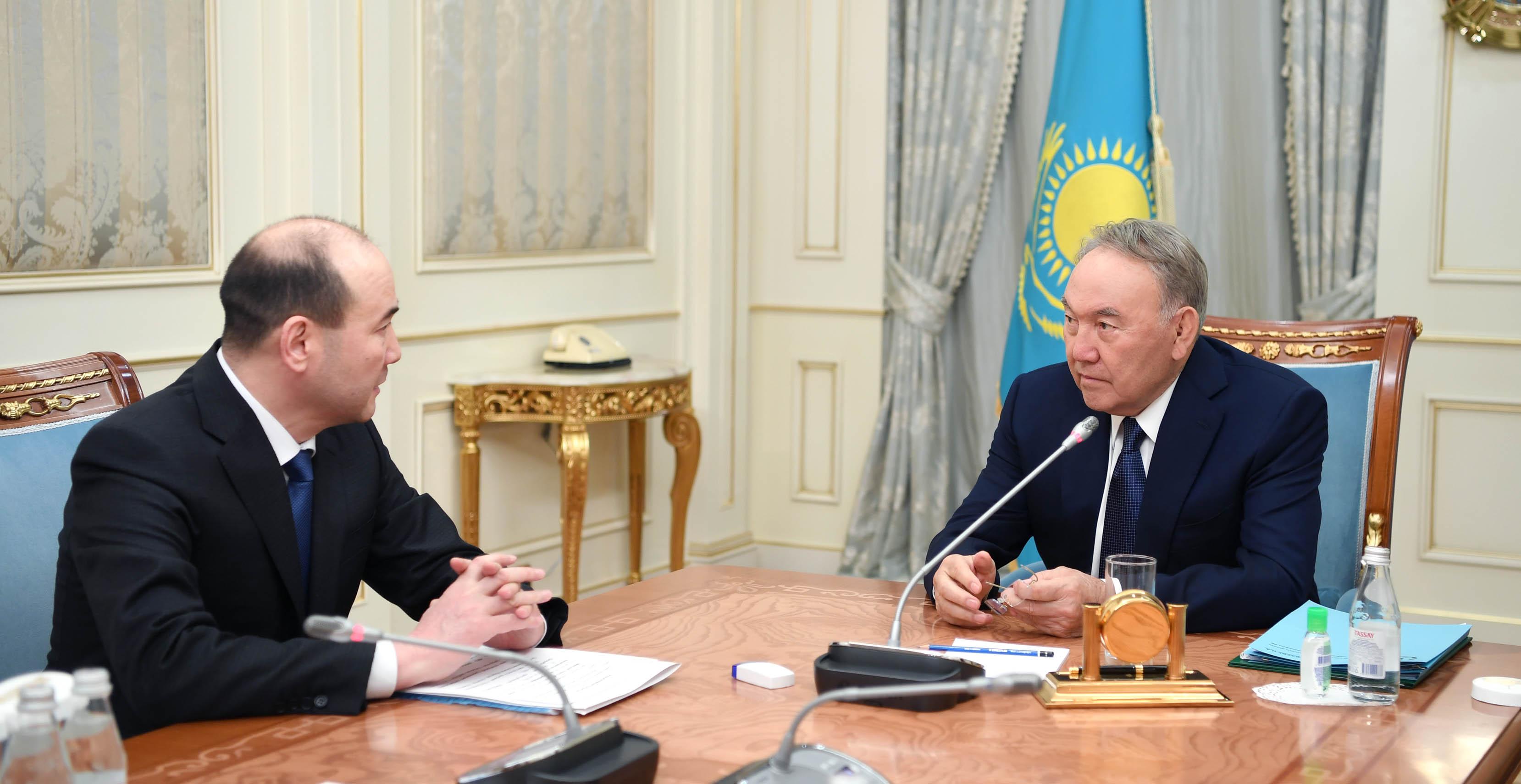Назарбаев встретился с генпрокурором