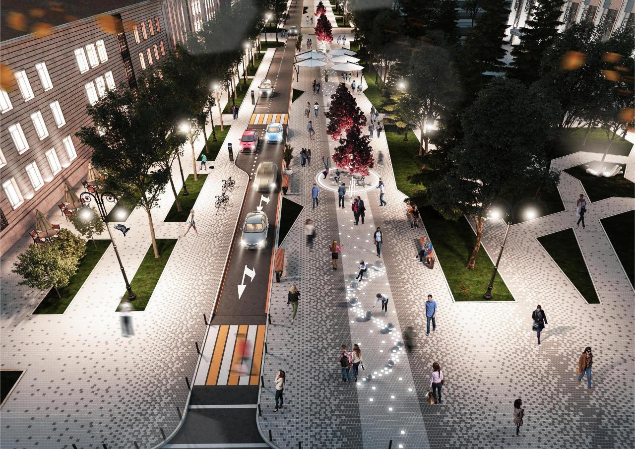 Реконструкция улиц, Алматы