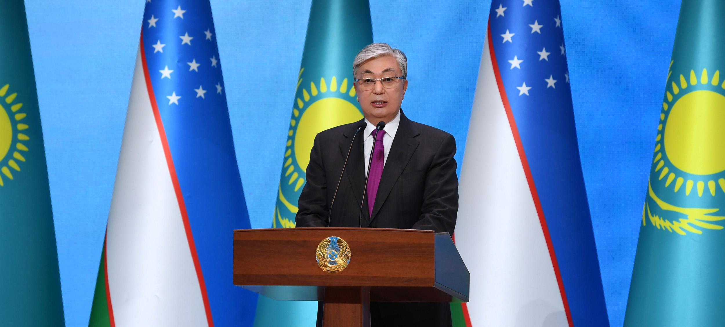 Токаев в Ташкенте
