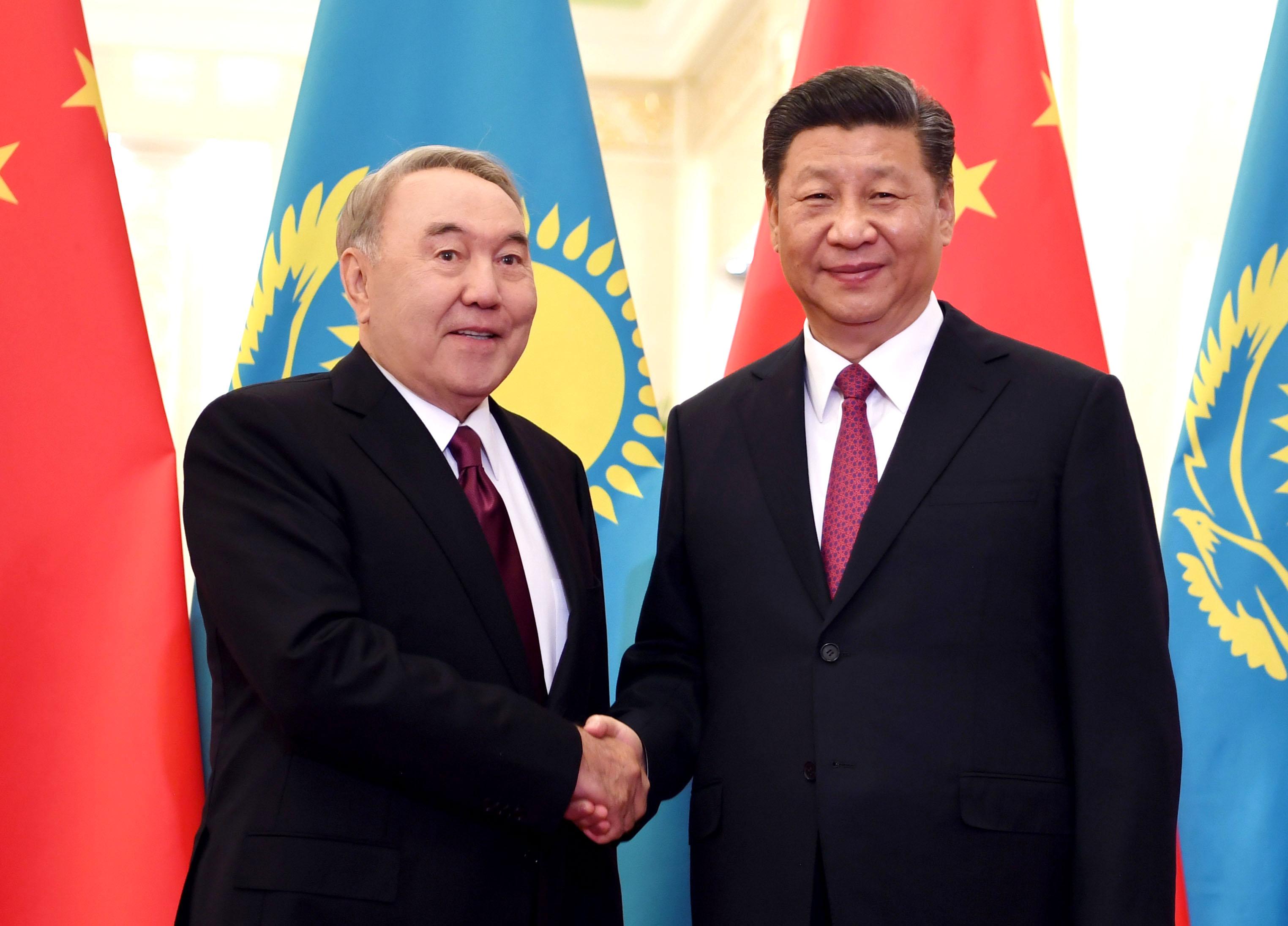Нурсултан Назарбаев Си Цзиньпин