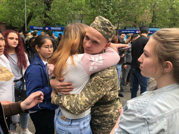 Призыв в армию, новобранец, солдат