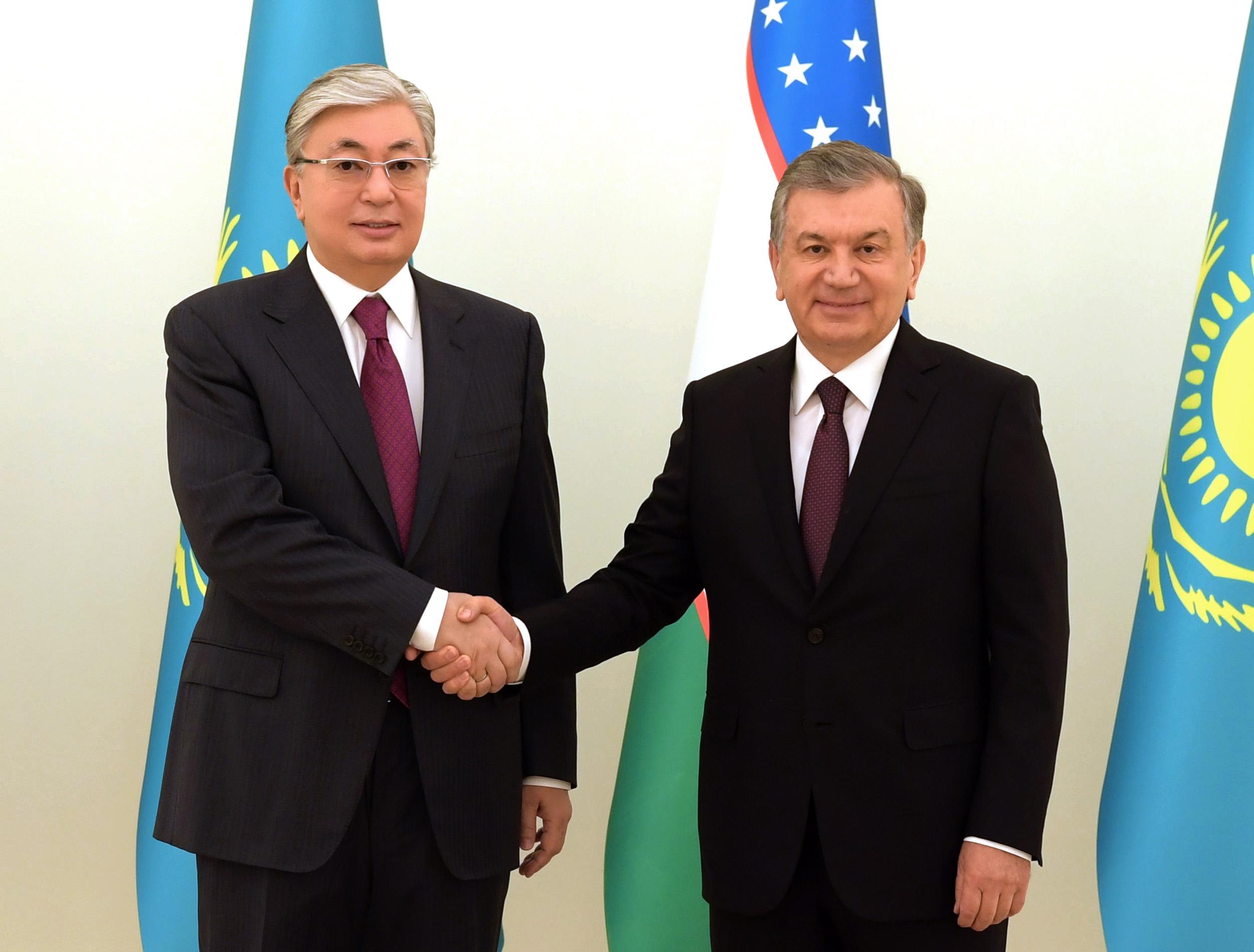 Мирзиёев и Токаев