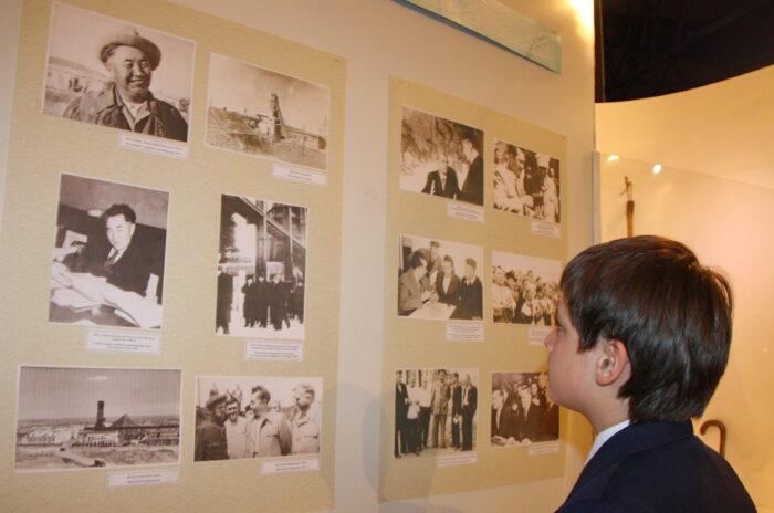 сатпаев 120 летие выставка госмузей