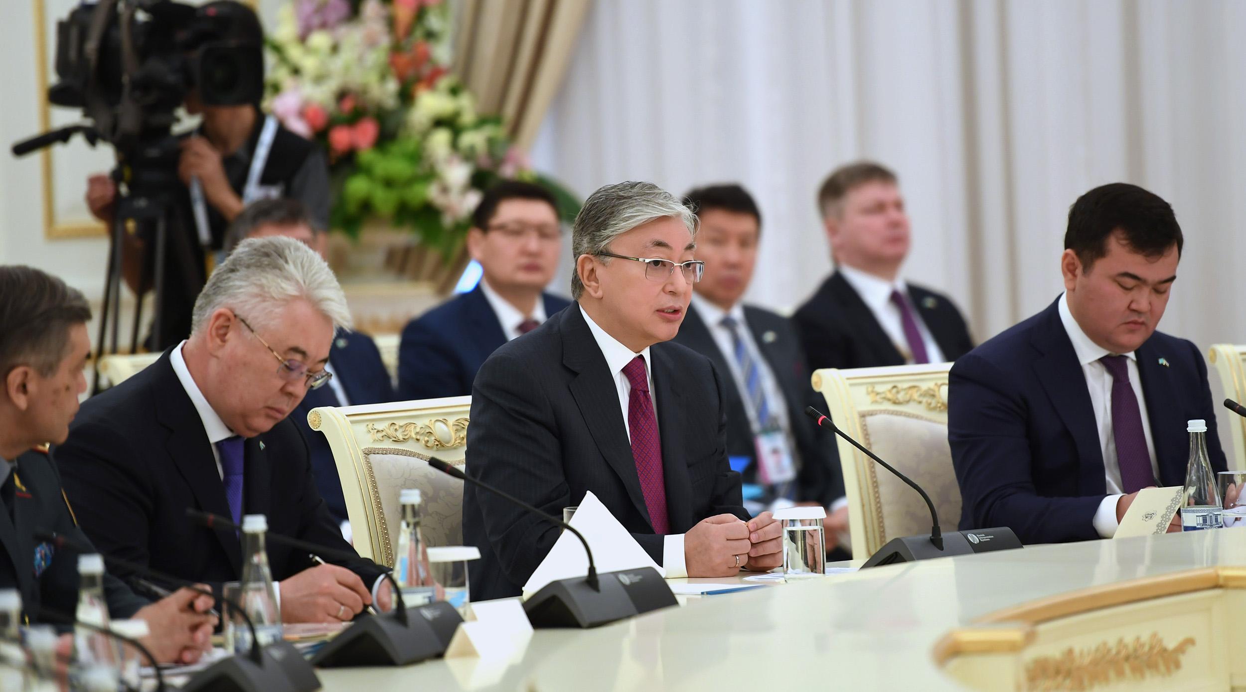 Касым-Жомарт Токаев в Узбекистане