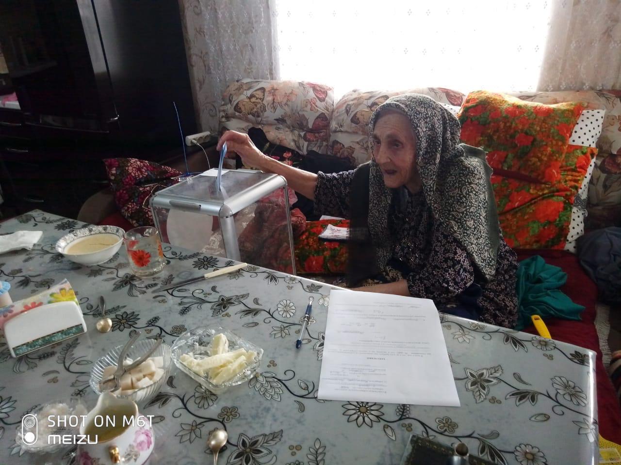 105-летняя Байрамова Балаханим