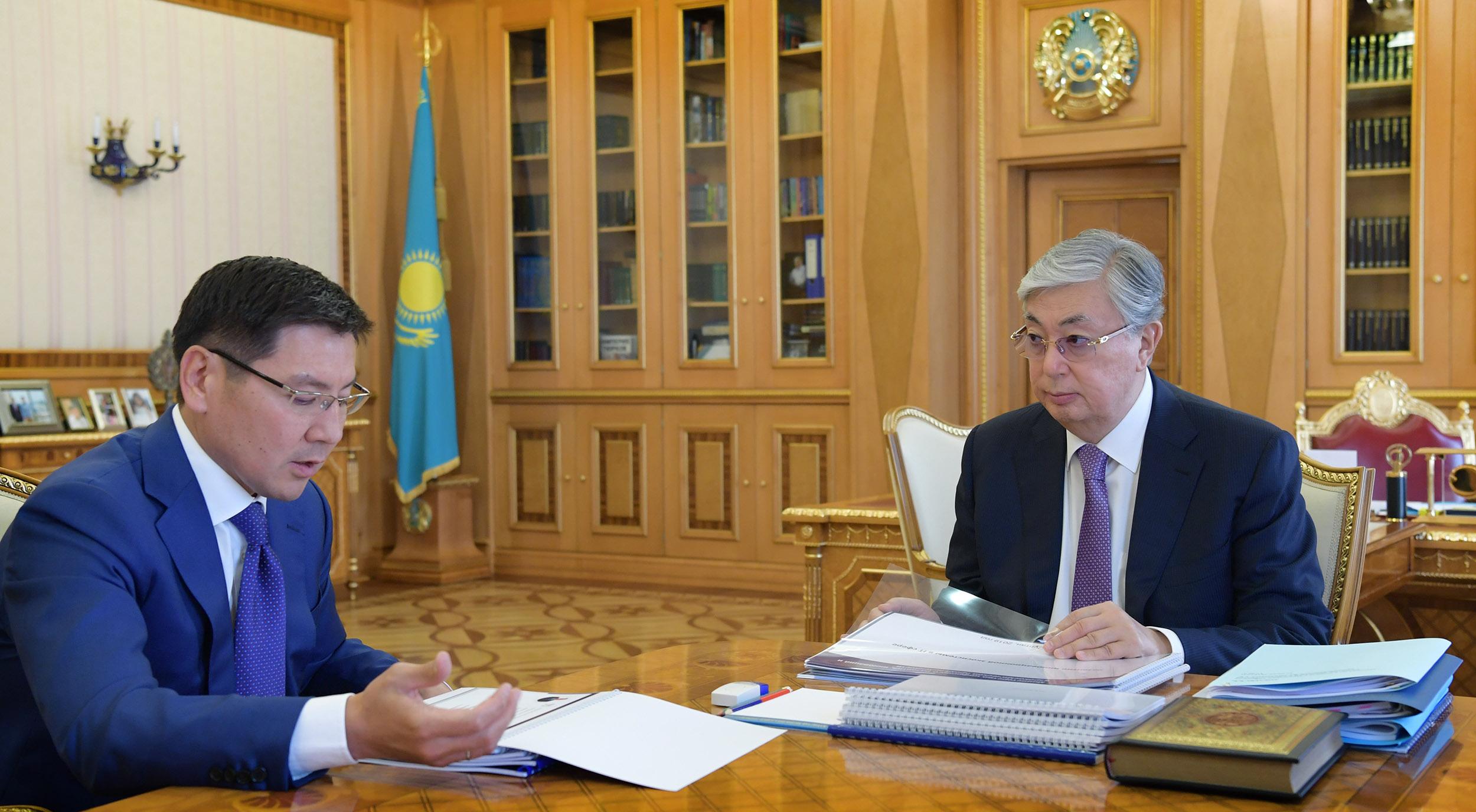 Аскар Жумагалиев Касым-Жомарт Токаев
