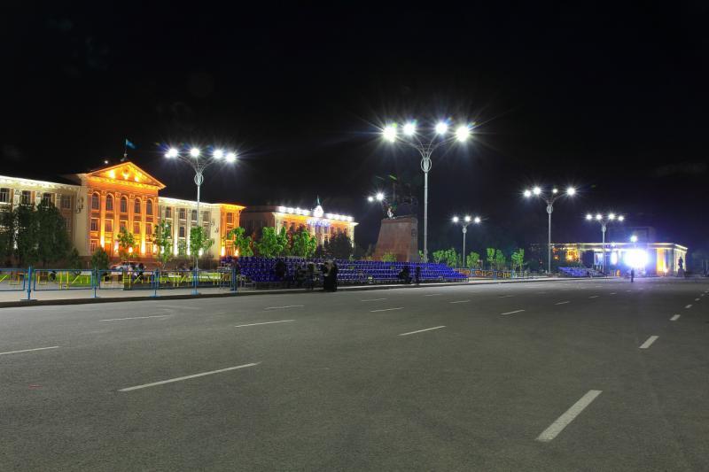 Центральная площадь Тараза переименована в честь Нурсултана Назарбаева