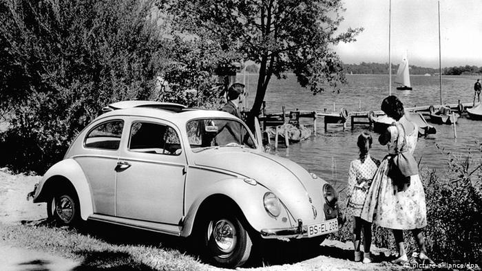 Оригинальный Volkswagen Käfer. Источник: DW