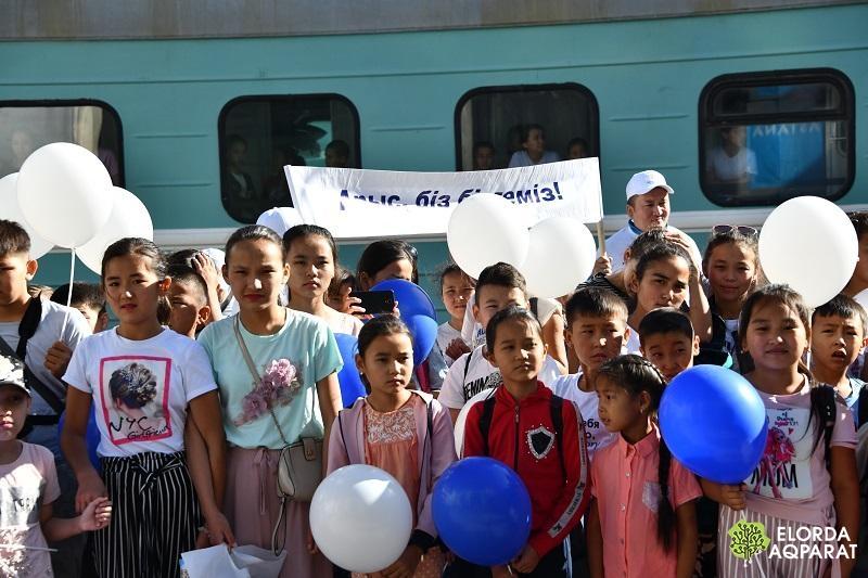 дети из арыси в нур-султане