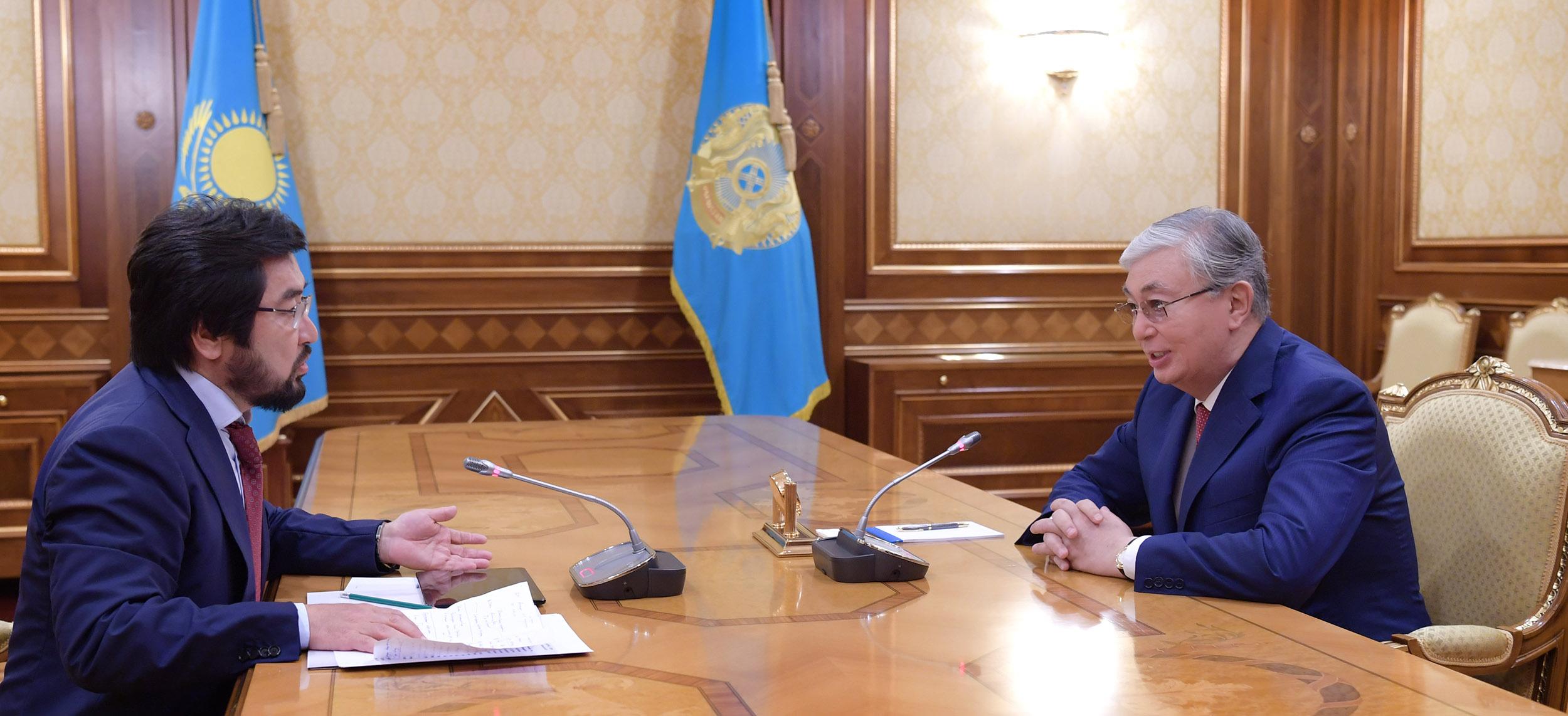 Касым-Жомарт Токаев Бекболат Тлеухан