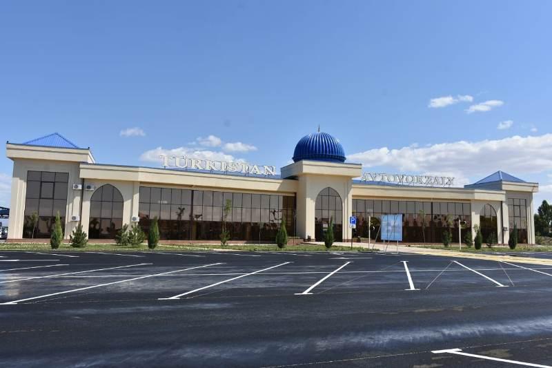автовокзал Туркестан