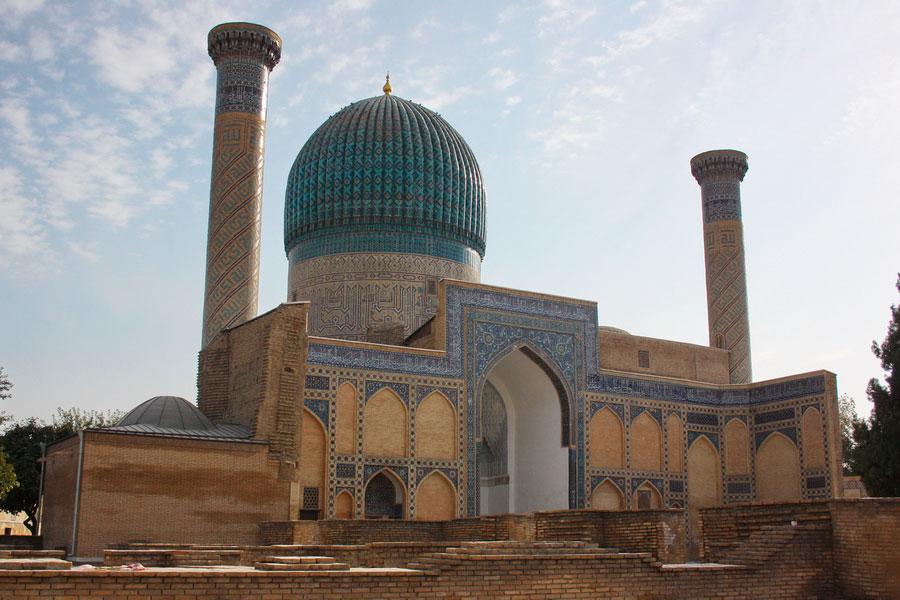 мавзолей узбекистан