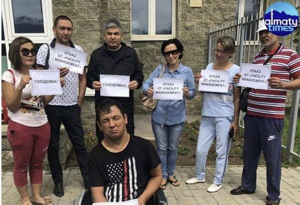 Митинг в Алматы: жители домов выступили против КСК «Facility» (ВИДЕО)