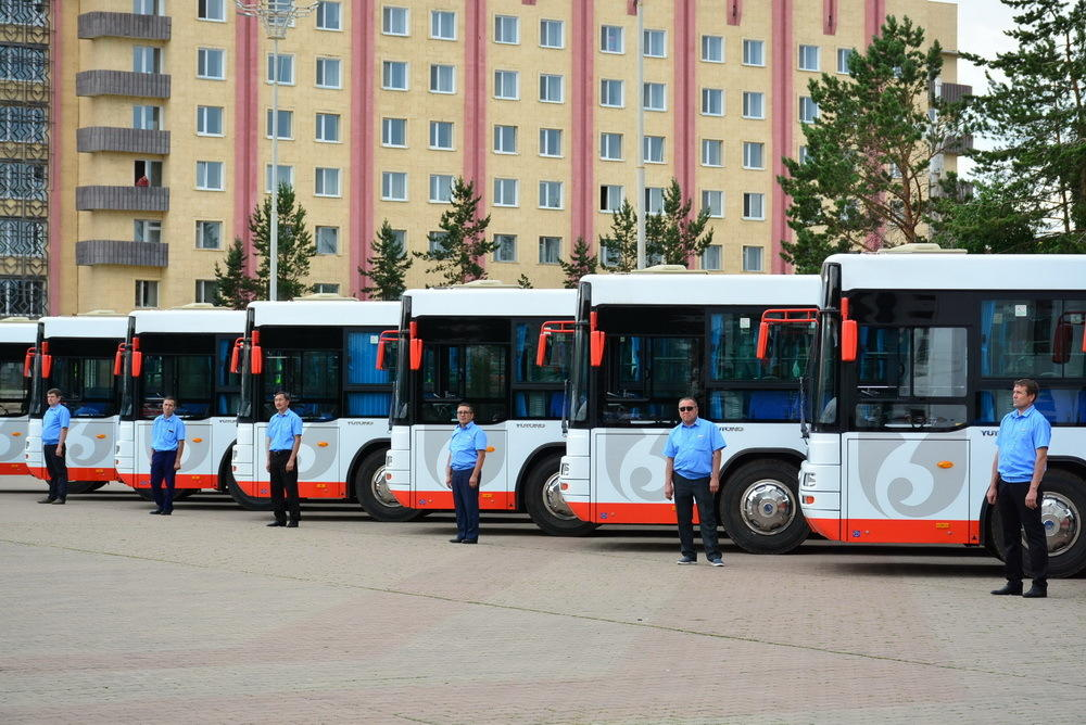 автобусы кокшетау