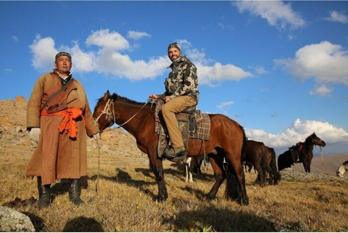 сын трампа в монголии