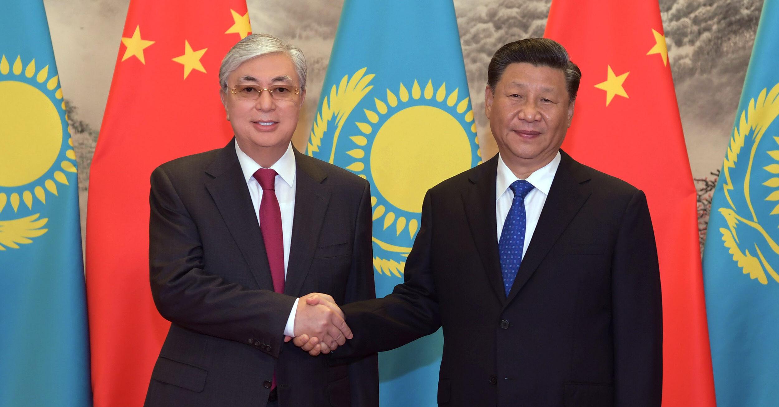 Токаев и Си Цзиньпин