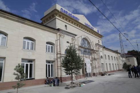 Карагандинский вокзал после реконструкции. Источник: ekaraganda.kz