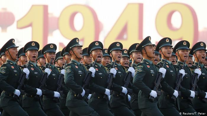04fbaa0e28a39d8f4b9a1a07c4d279e2 - Beijing hosted a large-scale military parade in honor of the 70th anniversary of China