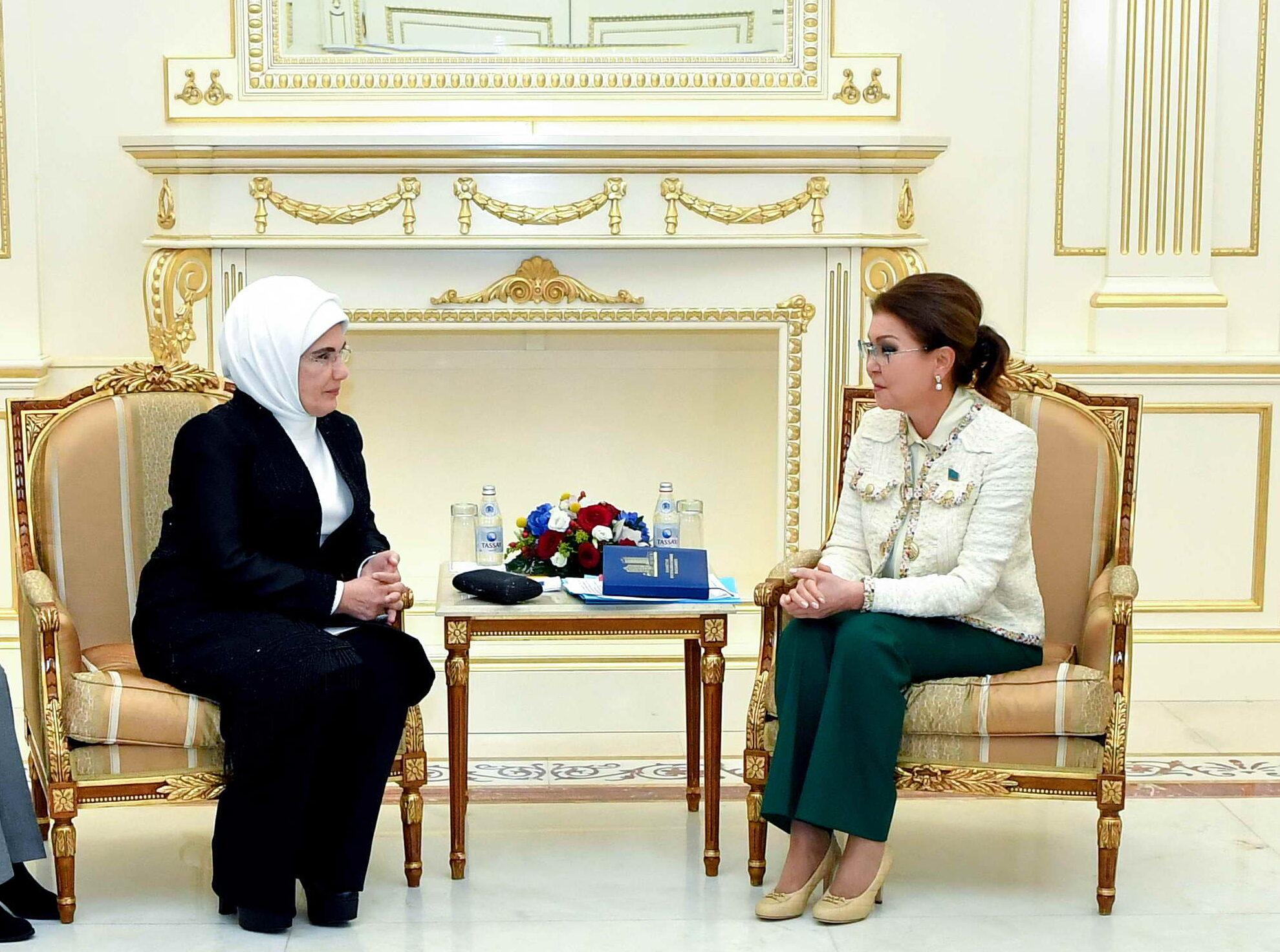 0785d05464e499280d07e93d14f8b9cf e1571217643688 - Dariga Nazarbayeva met with the wife of Erdogan