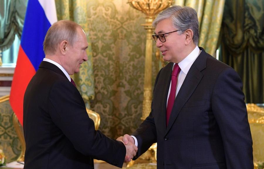 36a182ecdf3f2b9a400a3dd0c23192c0 - Tokayev congratulated Putin on his birthday