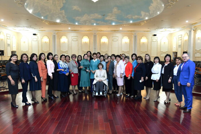 42be8a8e58ffd69dcf76ced989d13ef4 700x467 - Dariga Nazarbayeva was presented in Aktobe a new concept of gender policy