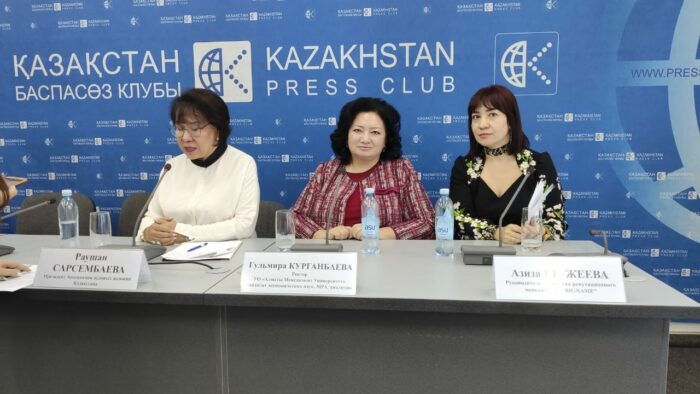 """a82e33722c27339ee0913eda6ba01b34 700x394 - Fighting lokalizacja: in Kazakhstan there was """"the Alliance of Women's Forces of Kazakhstan"""""""