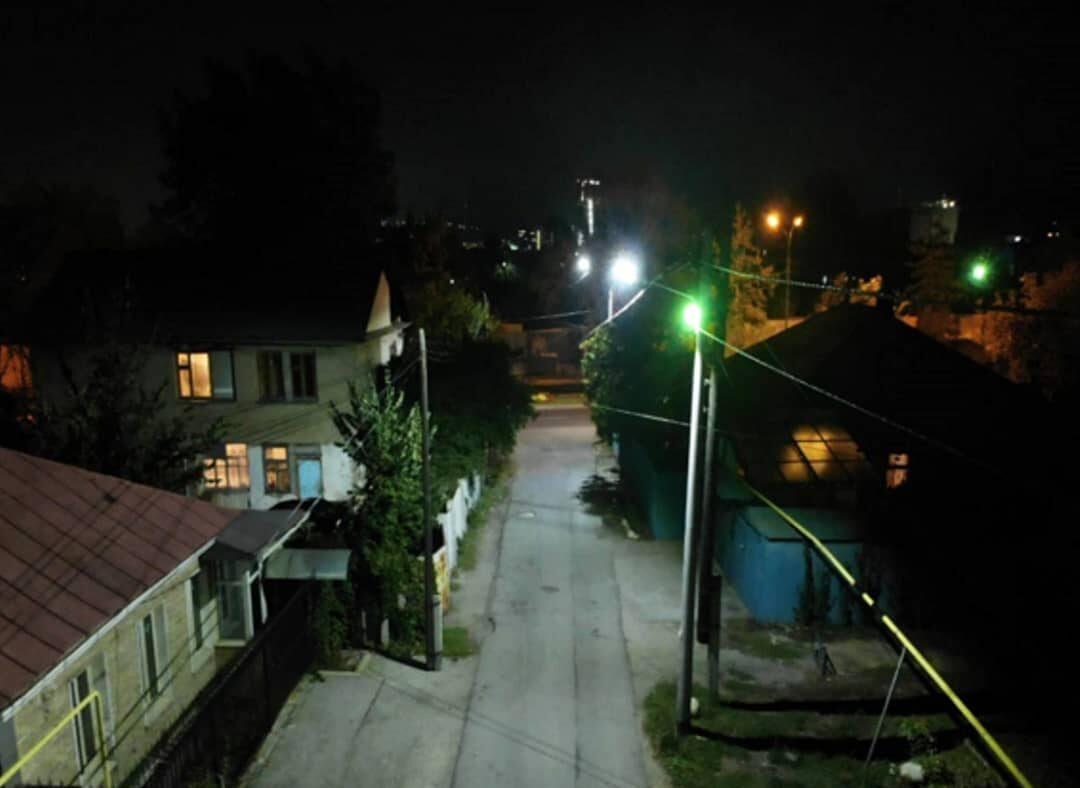 уличное освещение алматы