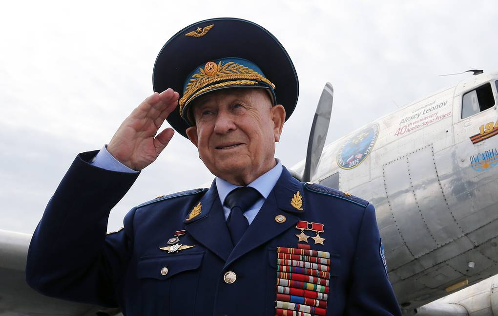 b9d36bf63f7de61b04d6bdbefafbcd76 - The President of Kazakhstan expressed his condolences in connection with the death of Alexei Leonov