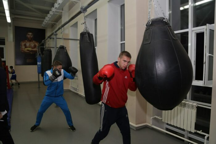 """d9e2ee24467e13f6dc4a470020b89ed8 700x466 - Young athletes of Karaganda held a flash mob """"GGG, Alga!"""" in support of Golovkin"""