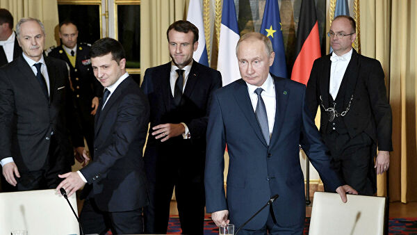 79d1223129aadf2409f421a4b8c363a8 - The Kremlin said Putin and disagreements Zelensky