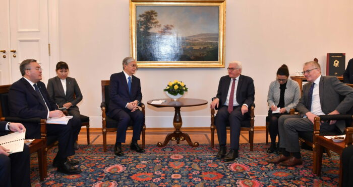 82af5d33841b74612468d1226ac58198 700x372 - Tokayev held talks with President of Germany