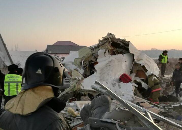 падение самолета бек эйр алматы