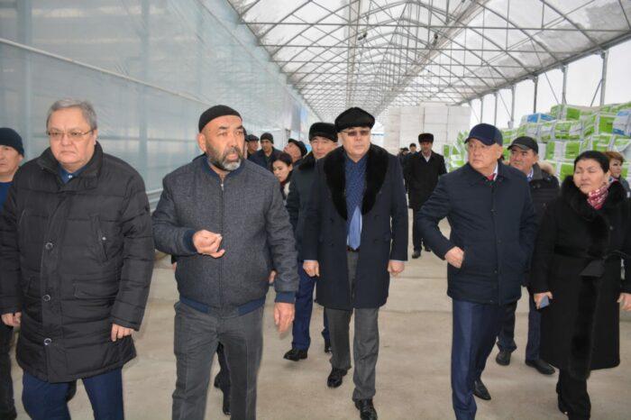 мажилисмены в туркестанской области