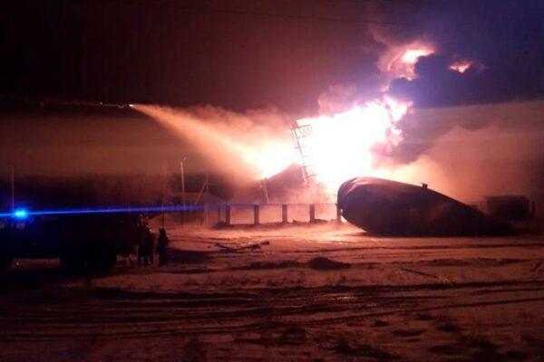 8f078010ca0251332edc5c342210a1cd 600x400 - In Aktobe region lit tank for waste oil