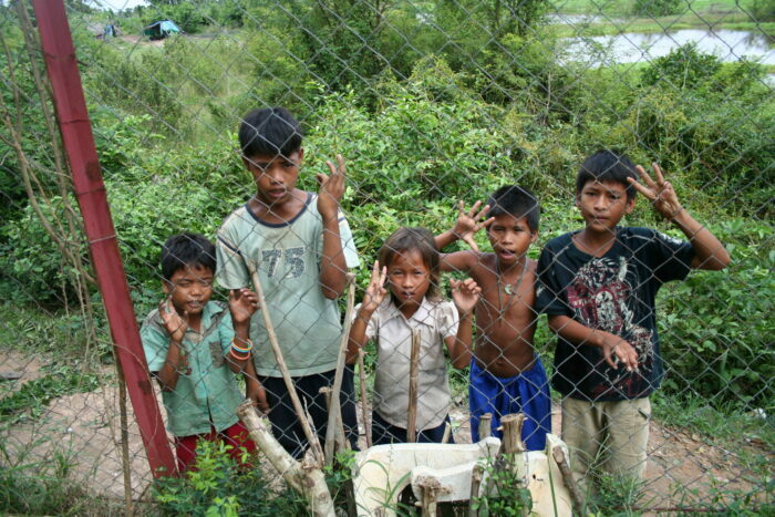 Дети Камбоджи. Фото - Н. Халабузарь