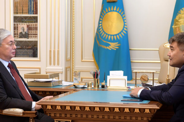 707dbebbb33b3d6de48a955605a84aee 600x400 - Tokayev discussed with Kaletaev the development of information technology