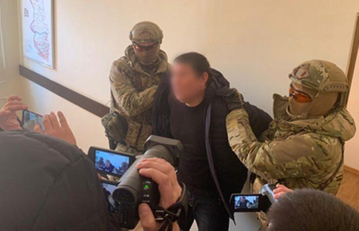 задержание опг джаманаева