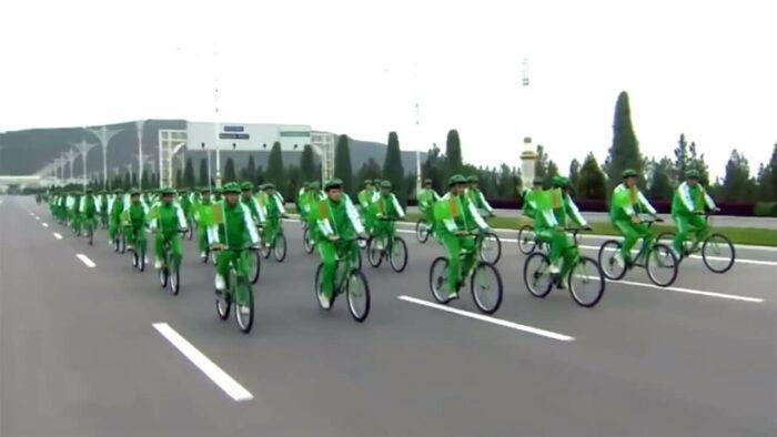 Велопробег в Туркменистане
