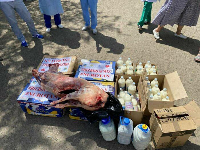 помощь от нур отан больницам карагандинской области