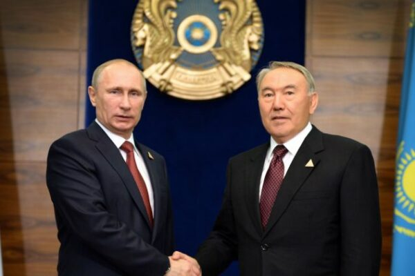 93d5e3215afdb460768e7fa8b6d96bf2 600x400 - Putin congratulated Nursultan Nazarbayev on his jubilee