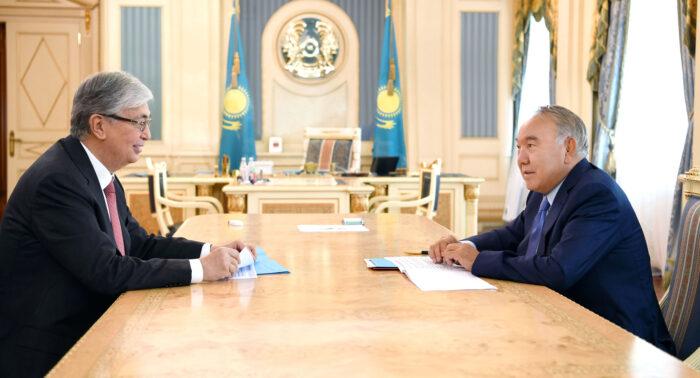 назарбаев токаев